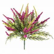 Textilblume Erika ALMINA zum Stecken, pink, 20cm, Ø0,5cm